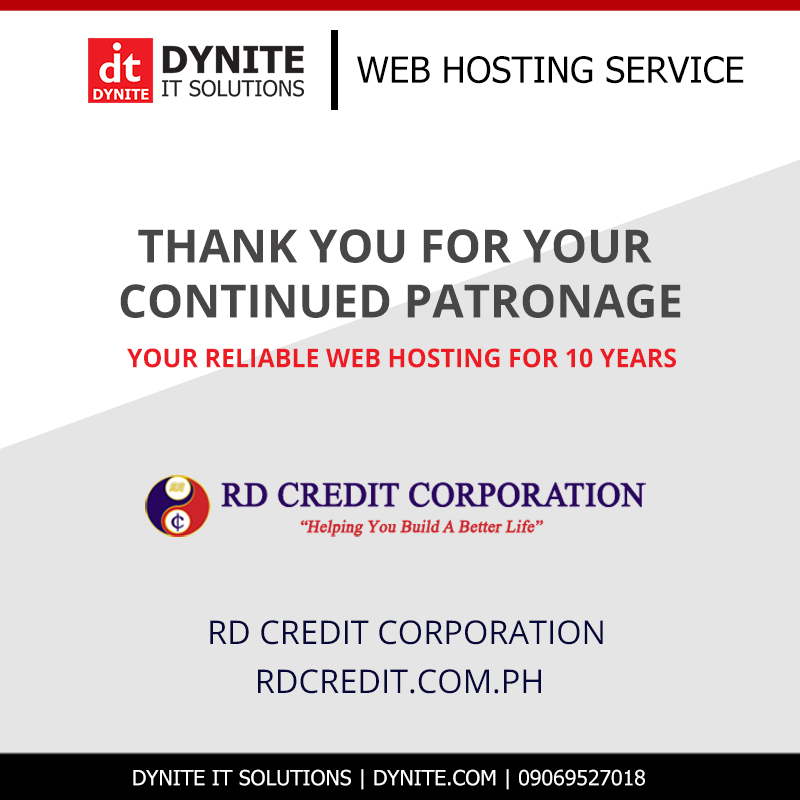 RD Credit Corporation Website hosted by Dynite