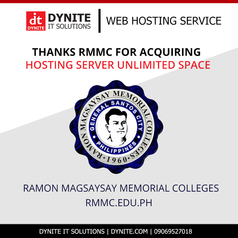 RMMC Website hosted by Dynite IT Solutions